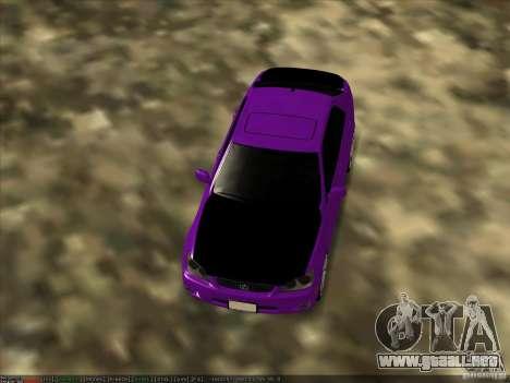 Lexus IS300 - Stock para la visión correcta GTA San Andreas