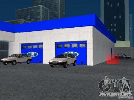 Auto VAZ para GTA San Andreas sexta pantalla