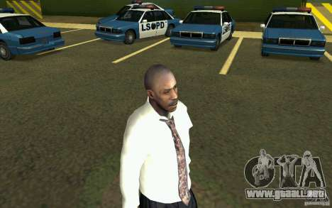 Civil HD para GTA San Andreas segunda pantalla