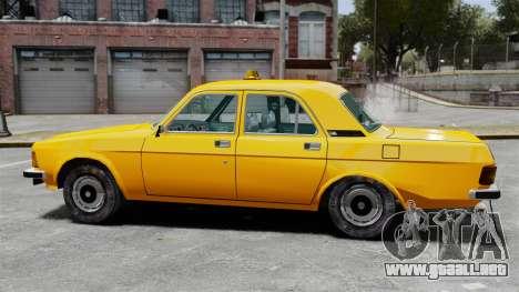 Taxi Gaz-3102 para GTA 4 left
