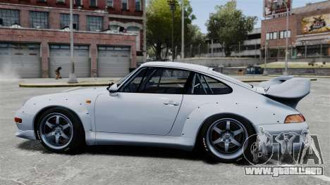 Porsche 993 GT2 1996 para GTA 4 left