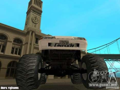 Elegy Monster para visión interna GTA San Andreas