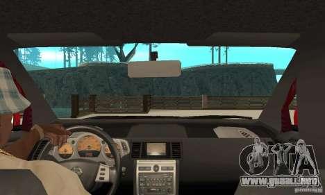 Nissan Murano 2004 para la visión correcta GTA San Andreas