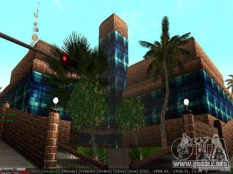 El nuevo hospital de Los Santos para GTA San Andreas quinta pantalla