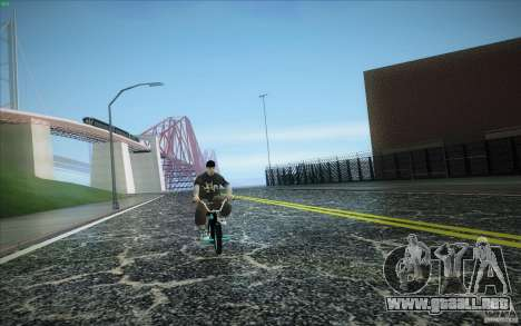 New roads San Fierro para GTA San Andreas quinta pantalla