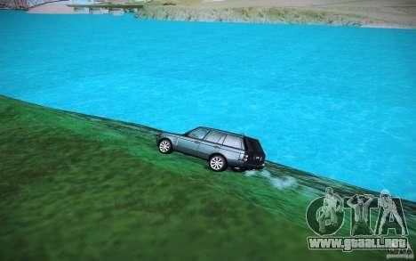 Agua HD para GTA San Andreas sucesivamente de pantalla
