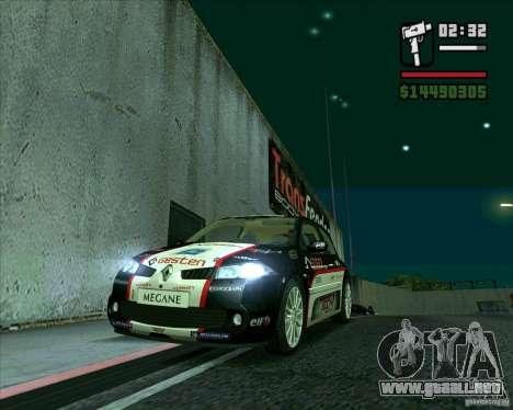 Renault Megane II RS para GTA San Andreas