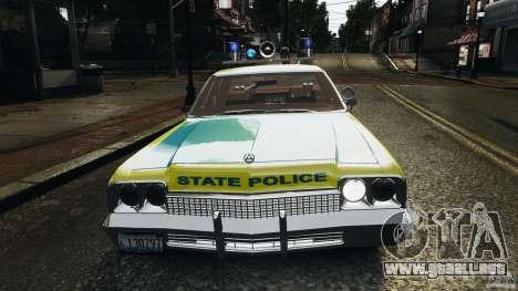 Dodge Monaco 1974 Police v1.0 [ELS] para GTA motor 4