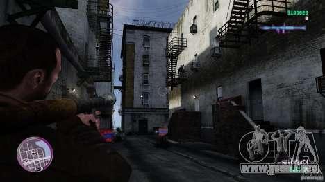 VC estilo Radar/HUD (piel 3) para GTA 4 adelante de pantalla