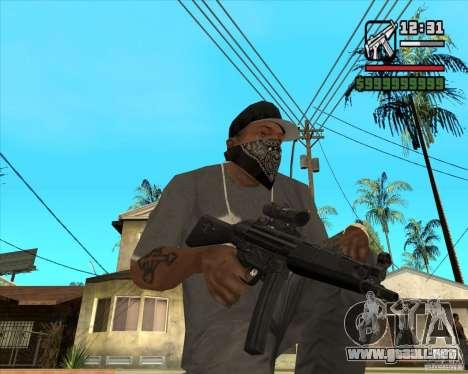 MP5 AGOG para GTA San Andreas