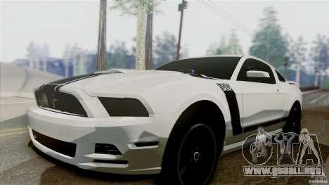 SA Beautiful Realistic Graphics 1.5 para GTA San Andreas sucesivamente de pantalla