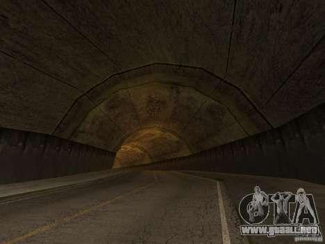 GTA SA 4ever Beta para GTA San Andreas sucesivamente de pantalla