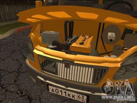 GAZ 22171 Sable para GTA San Andreas vista hacia atrás