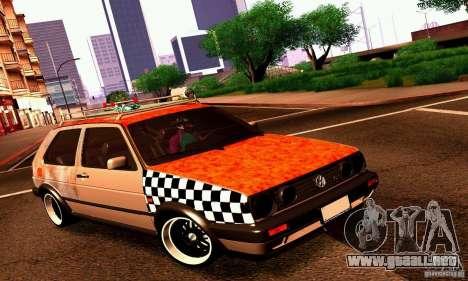 Volkswagen MK II GTI Rat Style Edition para GTA San Andreas left