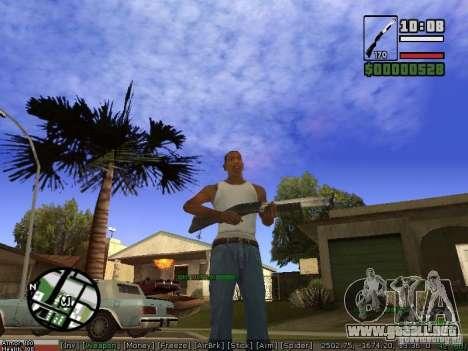 Pak armas para GTA San Andreas