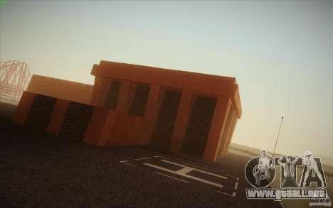 New SF Army Base v1.0 para GTA San Andreas sucesivamente de pantalla