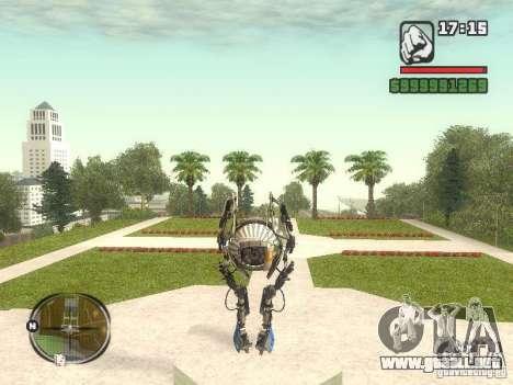 Robot de Portal 2 # 1 para GTA San Andreas tercera pantalla