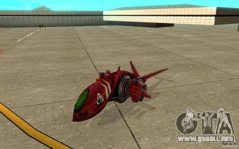 MOSKIT air Command and Conquer 3 para GTA San Andreas left