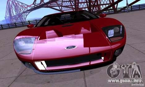 Ford GT 2005 para la visión correcta GTA San Andreas
