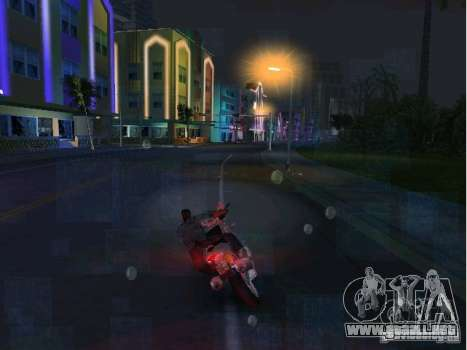 Ducati Supersport 1000 DS para GTA Vice City visión correcta
