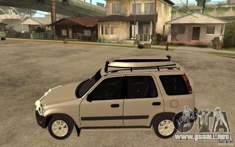 Honda CRV 1997 para GTA San Andreas left