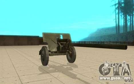 Pistola ZiS-2 para GTA San Andreas