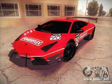 Lamborghini Reventon GT-R para vista lateral GTA San Andreas
