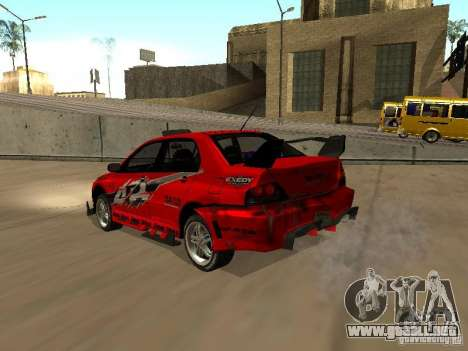 Vinilo para GTA San Andreas sucesivamente de pantalla