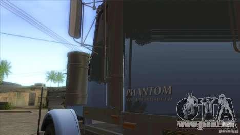 Fantasma del GTA IV para visión interna GTA San Andreas