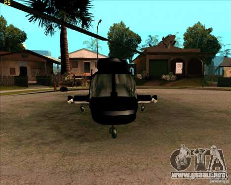 Airwolf para GTA San Andreas left