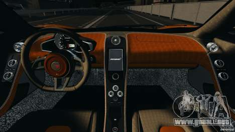 McLaren MP4-12C v1.0 [EPM] para GTA 4 vista interior