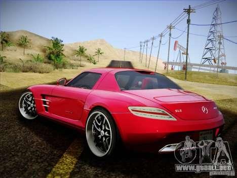 Mercedes-Benz SLS AMG para GTA San Andreas left