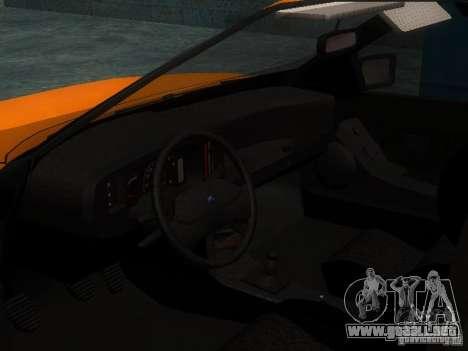 Ford Sierra Mk1 Sedan para GTA San Andreas vista hacia atrás