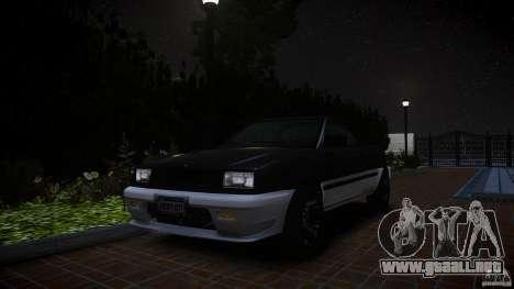 Blista Pick Up para GTA 4 Vista posterior izquierda
