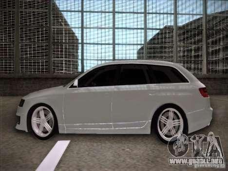 Audi RS6 Avant para GTA San Andreas left