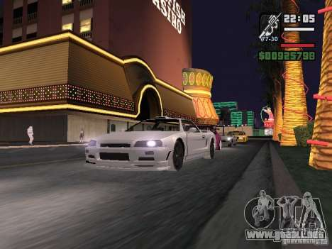 Infernus - beta - v.1 para GTA San Andreas