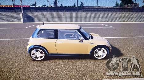 Mini Cooper S para GTA 4 vista interior