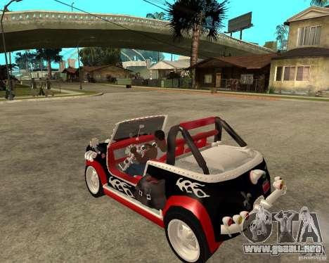 MiniCooper Tuning HOVADO 1 (MaxiPervers.cz) v.2 para GTA San Andreas left