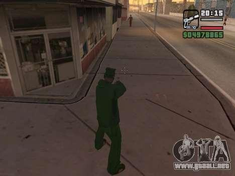 Ragdoll + Endorphin mod v1.0 para GTA San Andreas sucesivamente de pantalla