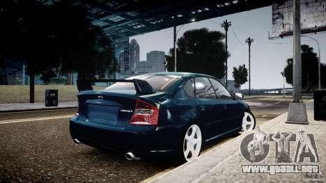 Subaru Legacy B4 GT para GTA 4 left