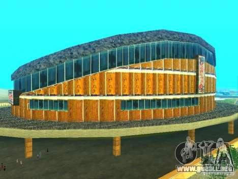 El nuevo edificio del LV para GTA San Andreas segunda pantalla