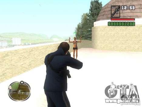 Viktor Zakhaev de COD MW 1 para GTA San Andreas tercera pantalla
