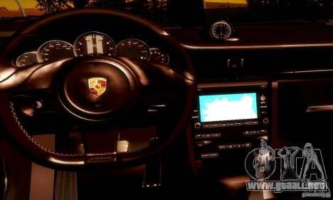 Porsche 911 Sport Classic para vista inferior GTA San Andreas