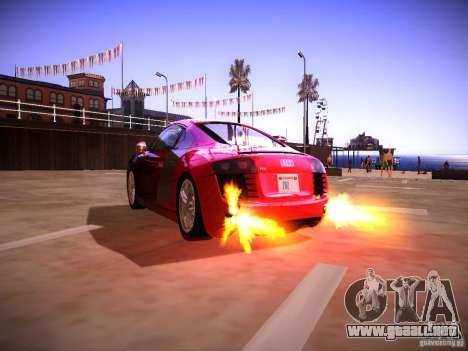 Efectos del tubo de escape para GTA San Andreas segunda pantalla