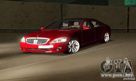 Mercedes-Benz S65 AMG Estate Edition para la visión correcta GTA San Andreas