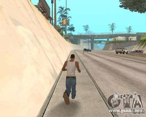 Sprint System v1.0 para GTA San Andreas segunda pantalla