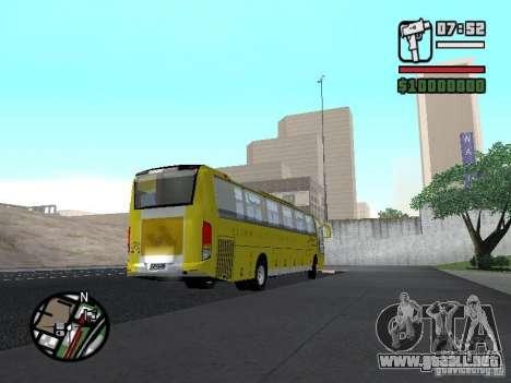 Busscar Vissta Bus para la visión correcta GTA San Andreas