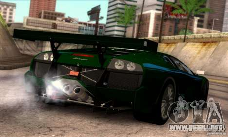 Lamborghini Murcielago R-SV GT1 para GTA San Andreas interior