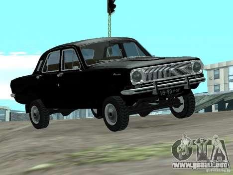 95 VOLGA GAZ-24 para GTA San Andreas
