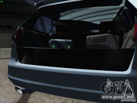 Volkswagen Passat B6 Variant Stance 2007 para visión interna GTA San Andreas